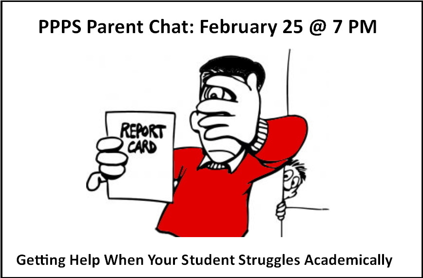 February 25 Parent Chat: Getting Help When Your Student Struggles Academically