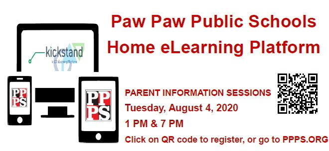 Information about PPPS Home eLearning Platform for Fall, 2020