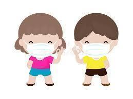 Masks required in classroom for Young 5-5th grade  beginning Monday, October 5th.
