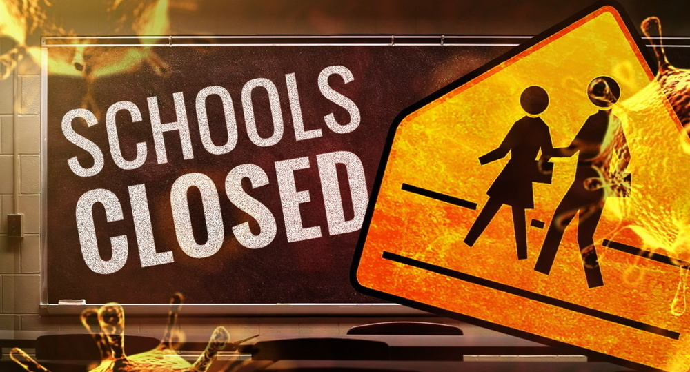 Schools Closed, Starting Friday, March 13