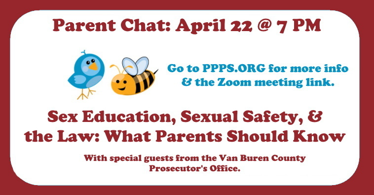Parent Chat #8: Sex Education, Sexual Safety, and the Law