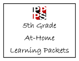 5th Grade At-Home Learning Packets