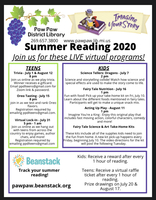 Summer Reading at the Paw Paw District Library