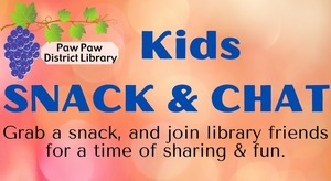 Paw Paw District Library Snack & Chat