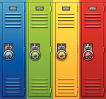 Locker Distribution Reminders