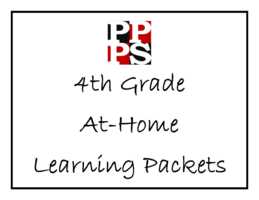 4th Grade At-Home Learning Packets