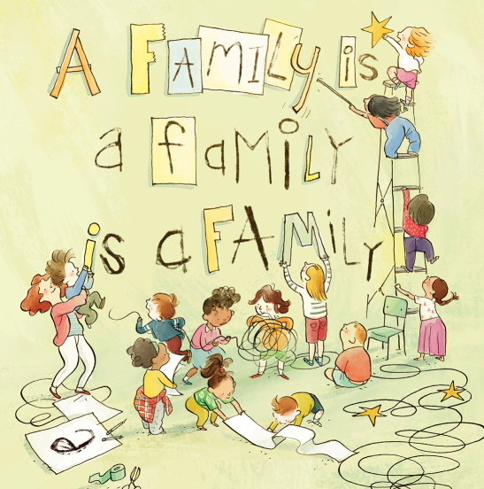 Family is a Family is a Family book cover image
