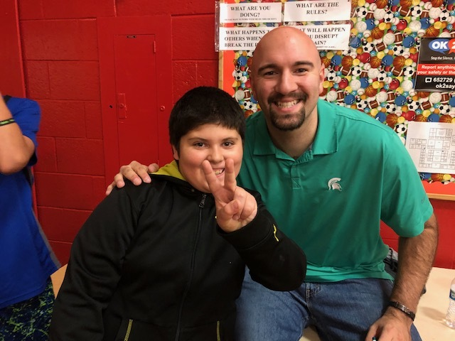 Former Division 1 basketball star Anthony Ianni shared his Relentless message with Paw Paw Middle School.