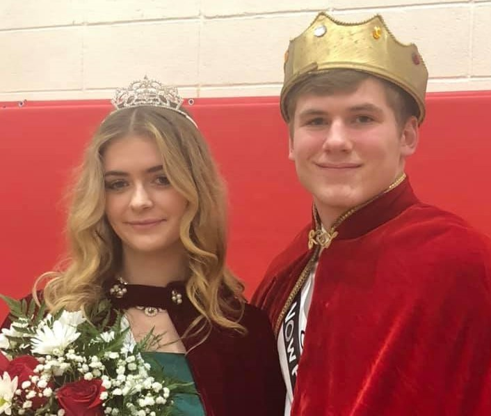 The 2019 Snowfest King and Queen were crowned at the basketball game on December 20.
