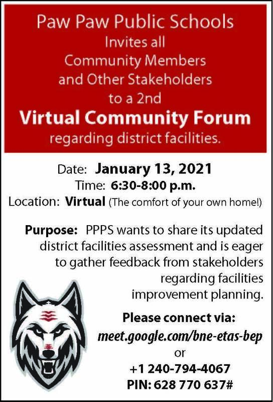 Community forum information graphic